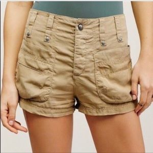 Free People Cargo Shorts size 0